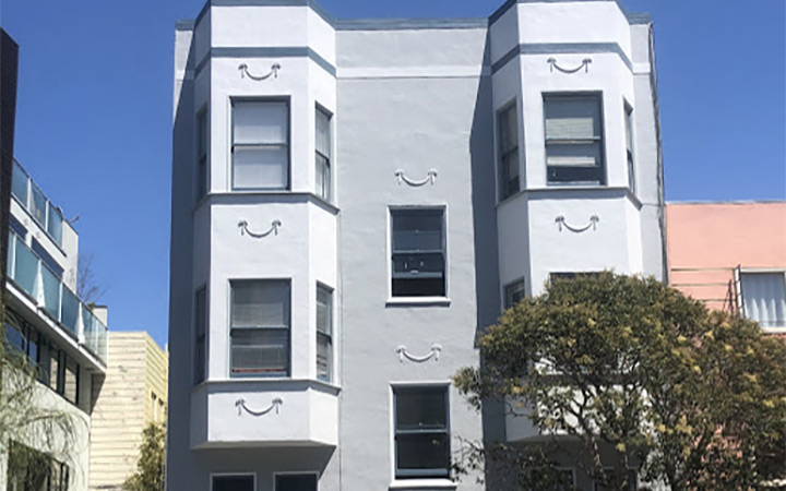 (6-unit apartment building)